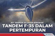 Jet Tempur Siluman Nirawak, Tandem F-35 dalam Pertempuran