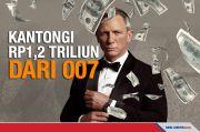 Aktor Daniel Craig Kantongi Rp1,2 Triliun dari Film James Bond