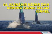 AL Aljazair Kejar dan Kepung Kapal Selam Milik Israel
