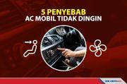 5 Hal yang Menyebabkan AC di Mobil Tidak Terasa Dingin