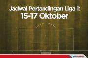 Jadwal Lengkap Pertandingan Liga 1: 15-17 Oktober 2021