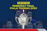 Perempat Final Piala Thomas 2020: Indonesia Bentrok Malaysia