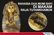 Rahasia Dua Mumi Bayi di Makam Raja Tutankhamun Diungkap
