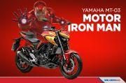 Keren, Yamaha Brasil Luncurkan Motor Superhero Iron Man