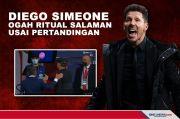 Diego Simeone Ogah Ritual Salaman Usai Pertandingan