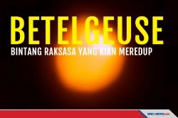 Betelgeuse, Bintang Raksasa yang Mulai Mendekati Kematiannya