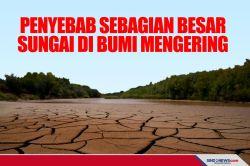 ini Penyebab Sebagian Besar Sungai di Bumi Mengering