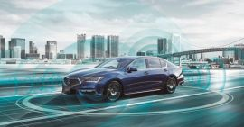Mengenal Teknologi Mobil Otonom yang Ada di Honda Legend