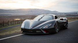 Tragis, Mobil Pemecah Rekor Kecepatan Tertinggi di Dunia Ringsek karena Kecelakaan