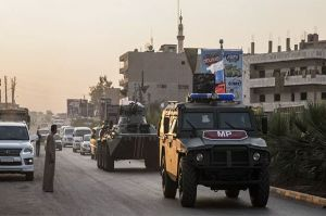 Russian Military Police Continue Patrols of Syrias Northern Provinces