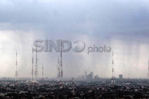 Lebaran Kedua, Hujan Diprediksi Guyur Jabodetabek Siang Nanti