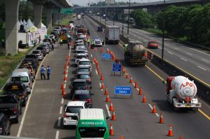 Jasa Marga Catat 171.046 Kendaraan Serbu DKI Jakarta