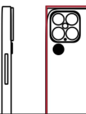 Bocoran Bentuk Kamera iPhone 13 Beredar Luas