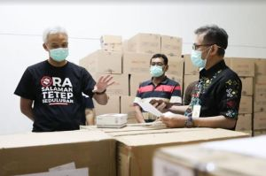Ganjar Ancam Penjarakan Jajarannya Jika Korupsi Saat Pandemi Corona