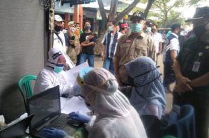 Gugus Tugas COVID-19 Gelar Rapid Test di 3 Pasar Tradisional di Kebumen