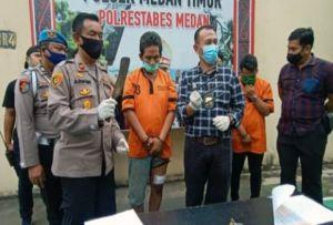 Digerebek Pesta Sabu, Mantan Polisi Simalungun Ditembak
