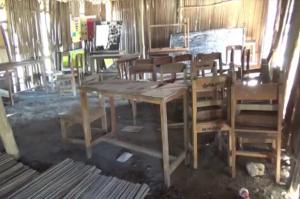 Penuh Kasih Sayang, Prajurit TNI Rehab Sekolah Mirip Kandang Ayam