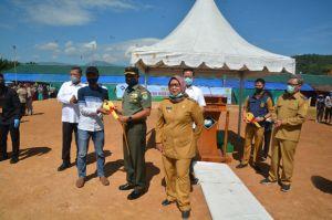 Korem 061/SK Bangun 1.573 Huntara bagi Warga Bogor Korban Bencana Longsor