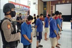 Polres Blitar Kota Gulung Pengedar Sabu Jaringan Pengusaha