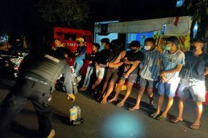 Mabuk Tuak, 1 Wanita dan 6 Pemuda di Semarang Dihukum Fisik