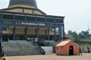 Isolasi Pasien Positif COVID-19 di Aula Masjid Ash-Shiddiq Bakal Dipindah ke RSUD