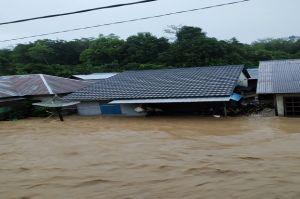 Banjir 1-5 Meter Rendam Ribuan Rumah di Sintang Kalbar