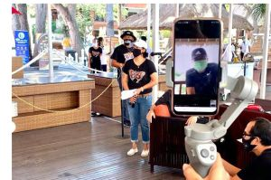 Wali Kota Rai Mantra Dukung Lomba Layangan Virtual
