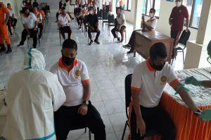 Pastikan Tak Terpapar Corona, 72 Anggota Basarnas Manado Ikuti Rapid Test