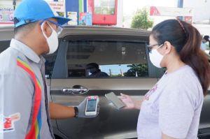 Transaksi Non Tunai di SPBU di Kota Surabaya Naik 440 Persen