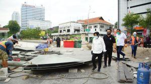 Pandemi COVID-19, Apa Kabar Pembangunan Alun-alun Surabaya?