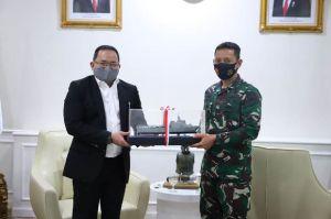 Dodi Reza Sambut Kunker Danlanal Palembang