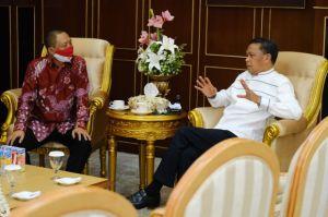 Dirut Perkebunan Nusantara Temui Gubernur Sulsel