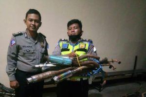 Operasi Patuh Lodaya, Polresta Bandung Garuk 312 Motor Berknalpot Bising