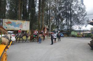 Wisata Berastagi Masih Bergeliat Pasca Hujan Abu Sinabung