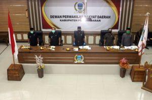 Seluruh Fraksi DPRD Pangandaran Tanggapi Penjelasan KUPA dan PPAS