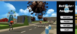 Mahasiswa FTI UBL Ciptakan Game Bocil Hunter: Corona Virus