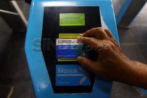 Penggunaan KMT Meningkat, Antrean di Sejumlah Stasiun Lebih Lancar