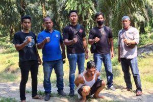 Perampok Bersajam Terekam CCTV di Indomaret Diringkus Polisi