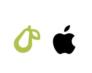 Apple Gugat Perusahaan Kecil yang Pakai Logo Buah Pir