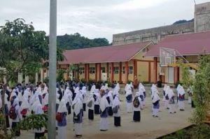 Zona Kuning, Sekolah di Panjang Panjang Gelar Belajar Tatap Muka