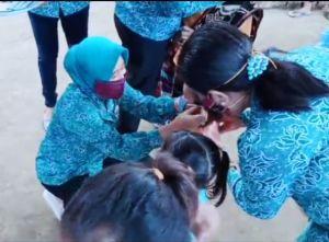 PKK Lembata Bagikan Masker ke Panti Asuhan