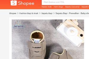 Hadir Online, Sepatu Bayi Lokal Lebih Keren Dibanding Merek Impor