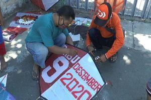 Layang-layang Demokrasi, Ajak Warga Paham Pilwali Surabaya