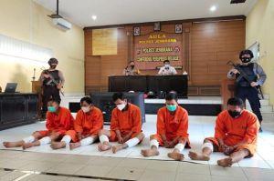 Komplotan Penjahat Spesialis Pecah Kaca Mobil di Bali Didor