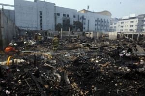 Si Jago Merah Mengamuk, 807 Kios di Pasar Cempaka Putih Ludes Terbakar