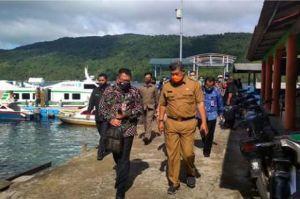 Deputi Bidkor Kominfotur Kemenkopolhukam Mengunjungi Kabupaten Kepulauan Anambas