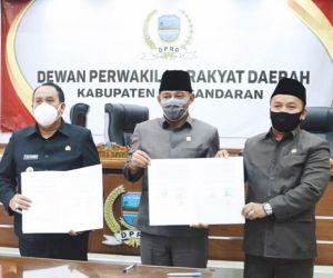 Peraturan Daerah APBD Tahun 2021 Resmi Disahkan