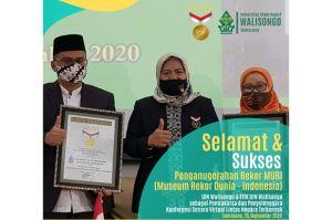 UIN Walisongo Raih MURI, Rekor Konferensi Virtual Lintas Negara Terbanyak