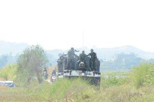 Prajurit Yonarmed 4/GS Latihan Tembak Canon 105 di Batujajar, Ini Pesan Kasdam