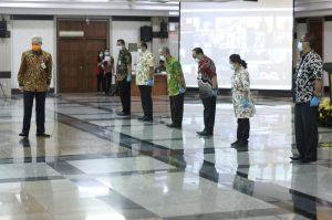 Enam Penjabat Kepala Daerah di Jateng Diminta Tindak Tegas Kerumunan Massa
